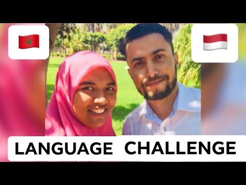 Moroccan speaking Indonesian   Language Challenge