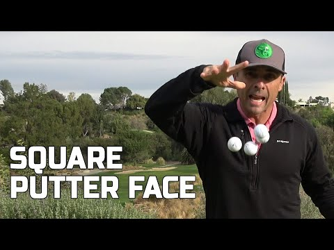 Square Putter Face At Impact