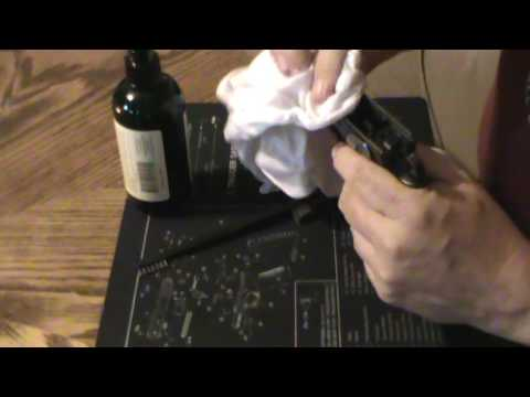 Basic Pistol Cleaning, using a CZ75B