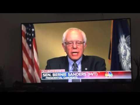 Bernie Sanders explains his past votes on the Brady Bill