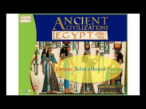 Ancient Civilizations: Egypt Interactive Whiteboard Software