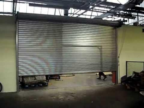 Guaridan Doors - Thermal Break Industrial Roller Shutters