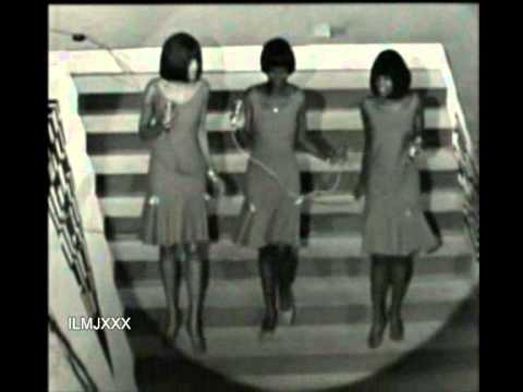 THE IKETTES/MIRETTES - HE'S ALL RIGHT WITH ME (RARE VIDEO FOOTAGE)