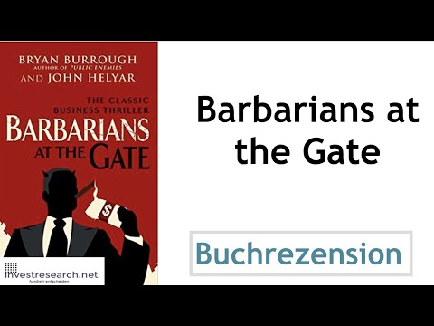 Barbarians at the gate - The Fall of RJR Nabisco