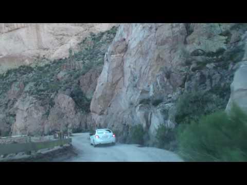 Apache Trail Route 88 Dirt Road Arizona