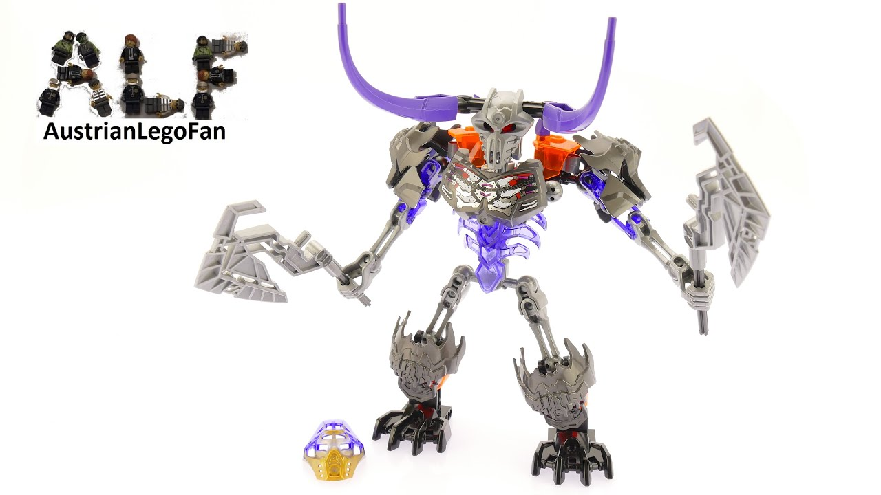 Lego Bionicle 70793 Skull Basher Lego Speed Build Review Youtube