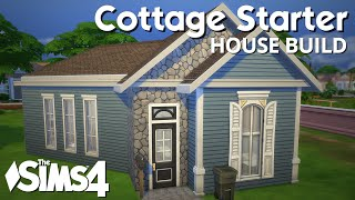 The Sims 4 House Building - Cottage Starter