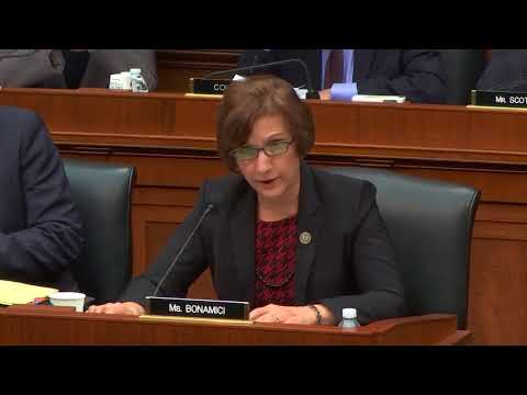 Bonamici Questions Labor Secretary Acosta about Retirement Security