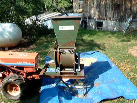 """Gravely 5665 with MacKissic """"Mighty Mac"""" chipper/shredder."""