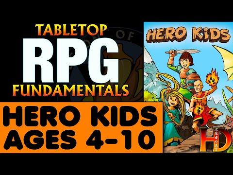 HERO KIDS - Fantasy RPG For Children Ages 4 To 10
