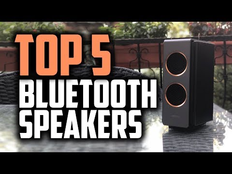 Best Bluetooth Speakers in 2018 - Which Is The Best Bluetooth Speaker?