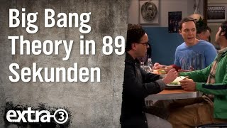 The Big Bang Theory in 89 Sekunden