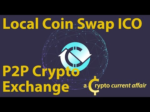 New ICO - Local Coin Swap Cryptoshares Token - p2p Crypto Exchange - Ep15