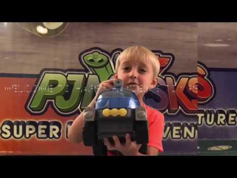 PJMASK SUPER MOON ADVENTURE MEGA ROVER - Toy Review