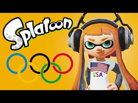 Splatoon Olympics 2016! (Funny Moments)