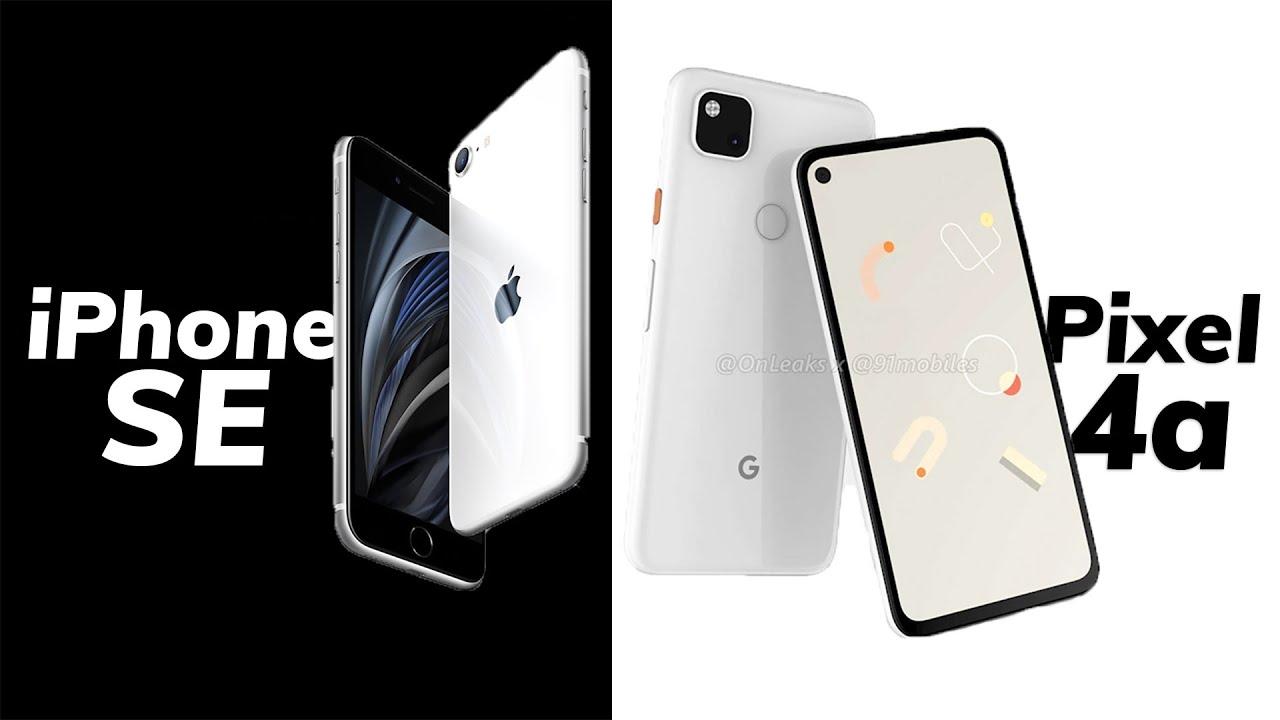 Pixel 4A vs iPhone SE