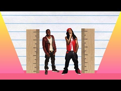 How Much Taller? - Kevin Hart vs Lil Wayne!