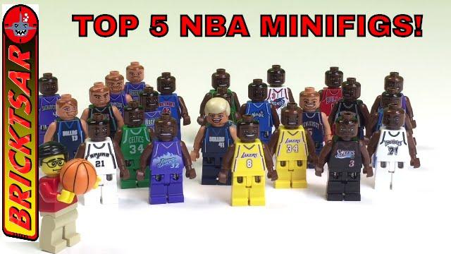 Lego Minifig Camera : Top 5 nba lego minifigures all time basketball greats youtube
