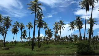 Taxi ride from Georgetown to New Amsterdam, Guyana 1)