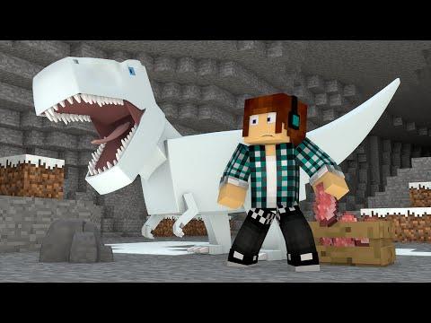 Minecraft : DINOSSAUROS DE GELO ?! - ARK CRAFT SURVIVAL #39