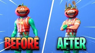 How To Unlock The New Tomatohead Crown in Fortnite..