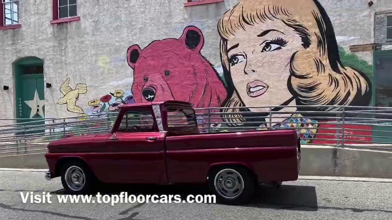 1966 Chevrolet Pickup at Top Floor Cars in Brenham, Texas