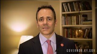 Gov. Bevin's Response to Gun Violence in Schools
