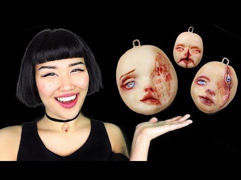 Making doll faces & chatting with you guys / Alienmoé Dollface Episode 16