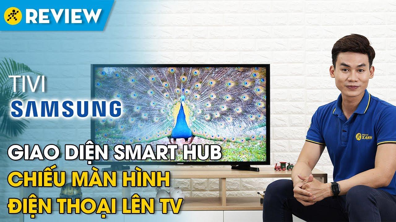 Tivi Samsung: giao diện Smart Hub, chiếu màn hình điện thoại lên tivi (UA40J5250D) • Điện máy XANH
