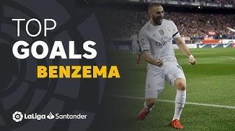 TOP 10 GOALS LaLiga Karim Benzema