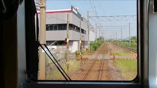 JR九州815系No18編成 日豊本線 中津⇒宇佐 前面展望動画