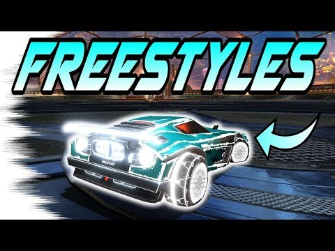 Rocket League Goals: NEON CAR FREESTYLES! (Air Dribbles, Fakes, Funny Moments Compilation!)