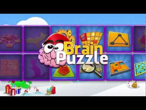 Brain Puzzle FREE Christmas 2012 | 3D Puzzle game for iPhone & iPad by Zariba
