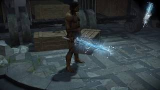 Path of Exile: Ice Weapon Effect