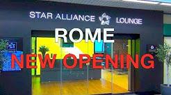 STAR ALLIANCE LOUNGE ROME | NEW OPENING für Gold Member | Der HON Circle