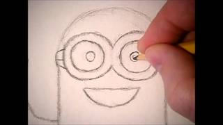 How to Draw: A Minion (Despicable Me 1, 2)