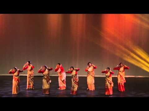 Bihu Dance on Independence day celebration