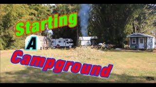 Starting a Campground