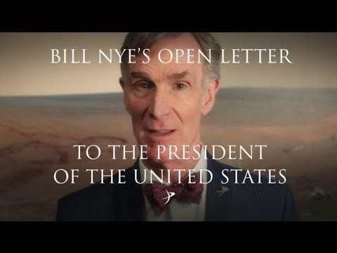 Watch Bill Nye's Open Letter To Donald Trump