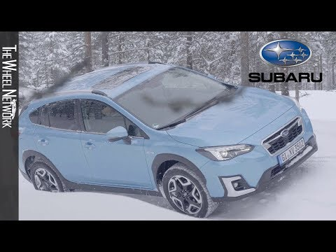 2020 Subaru XV E-Boxer Hybrid | Subaru Snow Drive Event 2020