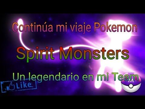 Capture un legendario, Ni Pokemon Go lo tiene, (Spirit Monster).