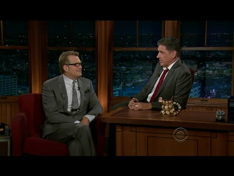 Late Late Show with Craig Ferguson 11/11/2011 Drew Carey, Linda Cunningham