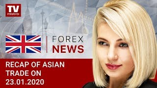 InstaForex tv news: 23.01.2020: Risk appetite subdued amid fears over Wuhan coronavirus: outlook for USD/JPY, AUD/USD