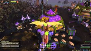 WoW: Cata PTR 4.3 - The Humanoid Cannonball (The New Darkmoon Faire) [HD 1080p]