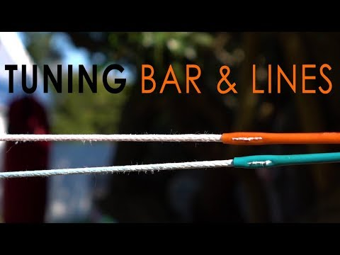 Tuning Bar & Lines (checking Kite Lines Are Equal Length)