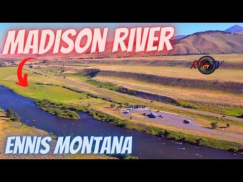 Ennis Montana - Fly Fishing - Madison River US HWY 287