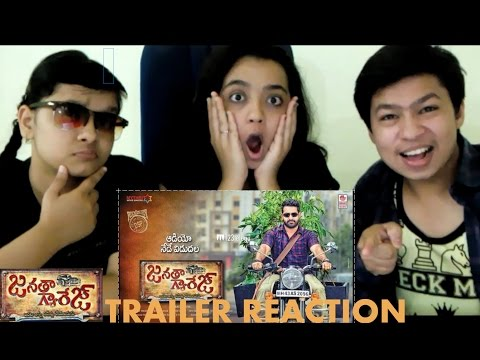 Janatha Garage Telugu Theatrical Trailer Reaction | Reaction By askd