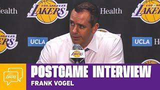 Lakers Postgame: Frank Vogel (11/29/19)