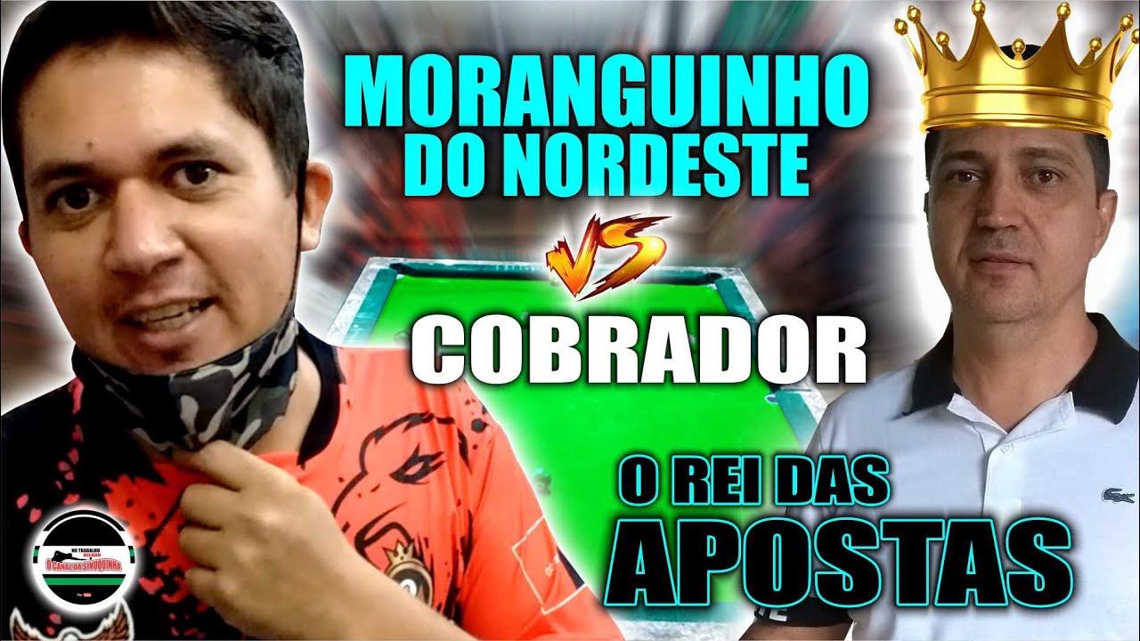 MORANGUINHO DO NORDESTE X COBRADOR O REI DAS APOSTAS ( QUEM FAZ 5 R$ 1000,00) JOGO DE BOLINHO