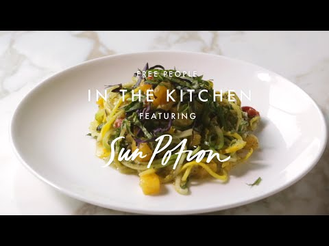 Sun Potion Ashitaba Recipe | In The Kitchen | Free People
